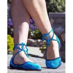 Chaussures Au Crochet - Chaussures au crochet faites à la main écologiques