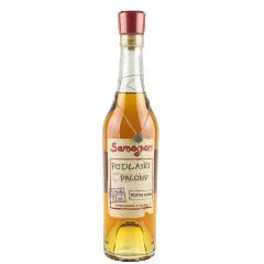 Samogon Podlaski Palony /Moonshine Spirit from Podlasie - Vodka de blé, seigle et orge malté vieillie en fût de chêne et infusée au sucre brulé et herbes