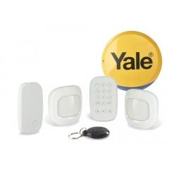 Alarme connectée - <p>Sync.</p> <p>La nouvelle alarme connect&eacute;e Yale vous offre une s&eacute;r&eacute;nit&eacute; absolue. Que vous soyez chez vous ou &agrave; distance, vous &ecirc;tes assur&eacute; que votre maison, votre famille et vos biens sont en s&eacute;curit&eacute;.</p> <p>Syst&egrave;me intelligent, compatible avec Philips Hue et Amazon Alexa.</p>