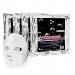 Masques Bio-Cellulosique x4 - Soins visage Bio Cellulose Hydratant et Régénérant a l'extrait de myrtille