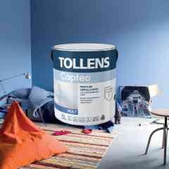 Captéo, la star des peintures dépolluantes - Une peinture dépolluante qui assainit efficacement et durablement l'air intérieur. En captant les polluants de l'air ambiant, comme le formaldéhyde, elle assure la protection et le confort de toute la famille dans la maison.