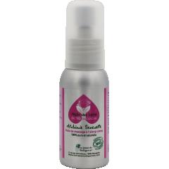 HUILE DES SENS DE MADAGASCAR - Cette association de 5 huiles végétales et 3 huiles essentielles s'effleure sur la peau et les zones sensibles du corps. Infiniment douce, lubrifiante et stimulante, l'Huile des Sens offre une énergie enivrante pour des sensations d'exception.