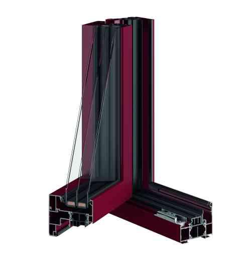 Fenêtre PVC Summum T84 - Le summum de l'isolation grâce à son triple vitrage de série - Uw : 0,8 W/ m2.K. Sécurité renforcée grâce à son ferrage exclusif SECUR. Combinaison infinie de couleurs et large choix d'accessoires.