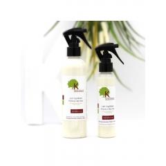 Lait Capillaire Protect My Hair - à l'huile d'Olive - <p>Ce lait de soin &agrave; l'huile d'Olive Bio, huile de Carthame et P&eacute;pins de raisin s'applique directement sur les cheveux secs en commen&ccedil;ant par la pointe des cheveux, jusqu&rsquo;&agrave; la racine. Id&eacute;al pour le d&eacute;m&ecirc;lage des cheveux sec (cr&eacute;pus ou d&eacute;fris&eacute;s), ou pour l'hydratation quotidien des cheveux . Vos cheveux seront plus souples et facile &agrave; coiffer...</p>