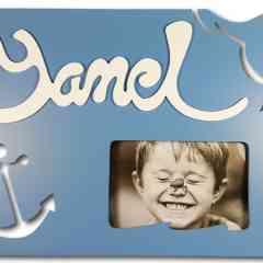 Cadre photo personnalisé - Cadre photo personnalisé sur stand au goût du visiteur