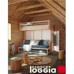 MEZZANINE - Prenez de la hauteur tout en gagnant de l'espace au sol pour travailler, recevoir, jouer ! Depuis 40 ans, les mezzanines Espace Loggia sont un véritable best-seller pour grands et petits !