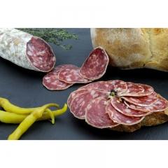 SAUCISSON DE MONTAGNE - Laissez-vous envouter par le goût rustique d'une viande produite au coeur du Pays-Basque !