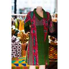 Robe à imprimé traditionnel Jupe imprimée traditionnelle afro centrique