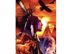 Arte Native Navajo Indien USA - ARTISANAT