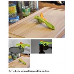 L'OUVRE BOITE REVOLUTIONNAIRE - Ouvre boite dessertisseur de conserve très facile d'utilisation