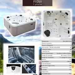 spa Fidji Vendom - spa 5 places dont 2 allongées