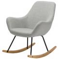 Fauteuil Rocking chair - <p>Dimensions du fauteuil : L 41 x P 76,3 x H 89 cm</p> <p>Pieds métal et bois hévéa massif</p> <p>Existe en : Bleu, anthracite, orange</p>