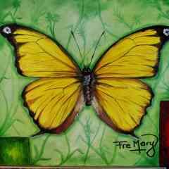 Peinture de papillon