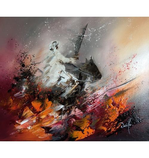 Peinture sur toiles