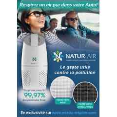 Natur-Air Car - Purificateur d'air pour voiture