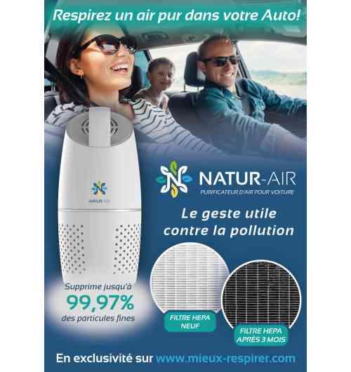 Natur-Air Car - Purificateur d'air pour voiture