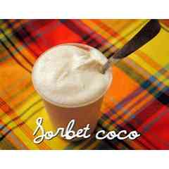 SORBET AU COCO - SORBET A LA NOIX DE COCO