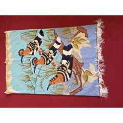 Tapstry Carpets - Crewel work multi purpose Tapstry Carpets hand crafted in Kashmir-India