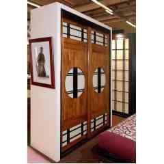 Porte de Placards-Séparations de piéces-Cloisons Japonnaises - Portes sur meusures en massif