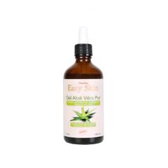 Gel d'aloe vera pur - L'aloe vera est l'une des plantes les plus utilisées en cosmétique. Reconnue pour ses grandes propriétés médicinales, elle est composée de plus de 150 actifs, dont des minéraux comme le zinc et le sélénium, des vitamines (C, E, B). L'aloe vera est donc un véritable cocktail nutritionnel, hydratant, anti-tâches, anti-âge et agit contre l'acné.