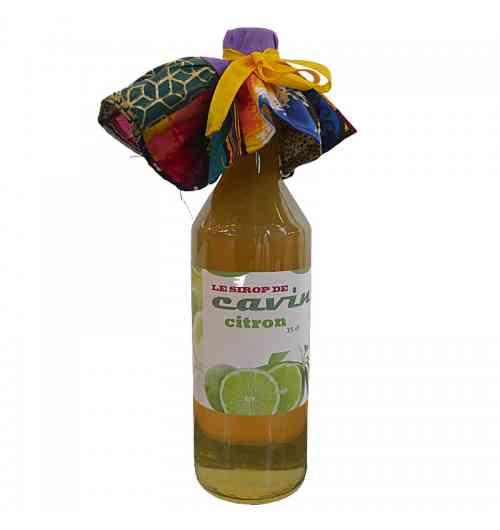 Le sirop de cavin - Citron - Jus de fruit - Le sirop de cavin - Citron
