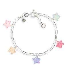 Bracelet figaro étoile