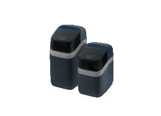 Adoucisseur compact connecté - <p>Conçu pour s'adapter à tous les espaces, les modèles Compacts de la gamme eVOLUTION sont équipés de la technologie Wi-F, d'un détecteur de niveau de sel, d'un éclairage du bac à sel et d'un couvercle amovible pour facilité le chargement en sel.</p>