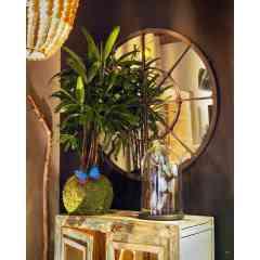 Kokedama Rhapis excelsa - <p>Pour le hors série maison, kokenendo présentera des grands kokedama.</p> <p>Plus qu'une plante c'est une pièce unique dans la maison, qui dégage une grande sérénité.</p> <p>Le Rhapis excelsa est un petit palmier qui aide à la purification de l'air et à réguler l'humidité.</p> <p>Originaire d'Asie, c'est un compagnon peu exigent et extrèment robuste.</p>