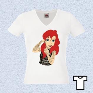 Tee Shirt Femme Arielle