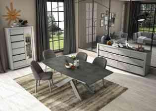 Mobilier pour le salon et la salle à manger - <p>La collection LAURENTIDES : le mariage du bois (disponible dans 15 finitions !) et du CeramFlex, un matériau aux caractéristiques exceptionnelles : INCASSABLE, facile d'entretien, chaud au toucher, résistant à l'abrasion de surface et à une température.</p> <p>La garantie d'un confort et d'une longévité hors norme sur les tables notamment !</p>