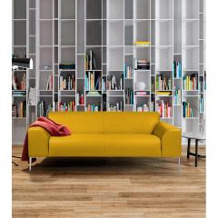 MONTMARTRE - Le canapé Montmartre, dessiné par Bernard Masson, est l'incarnation du design contemporain avec ses lignes légères et raffinées, au confort d'assise très moelleux. Ce canapé offre une esthétique et des détails de finitions de grande qualité (surpiqûres, assise capitonnée, élégance des pieds métal...) et trouvera naturellement sa place dans les intérieurs contemporains haut de gamme.