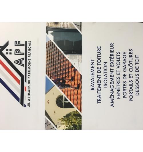 Ravalement et traitement de toiture - La société APF vous propose des traitements écologiques avec notre propre gamme de produits