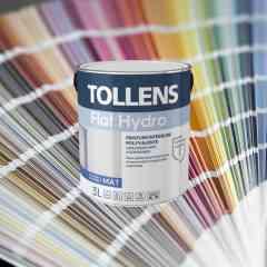 Flat Hydro, la solution couleur idéale - C'est LA peinture polyvalente murs, plafonds et menuiseries en intérieur qui offre une finition parfaite et possède une gamme de couleurs illimitée.