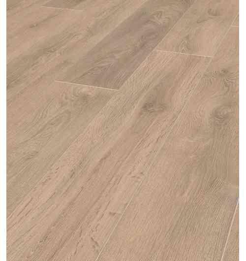 Revêtement de sol Stratifié Super Natural Classic- Teinte Chêne Blonde 8575 - La structure brossée en profondeur du stratifié Super Natural Chêne Blonde  8575 lui confère un aspect parquet véritable bluffant. Système de pose 1clic2go