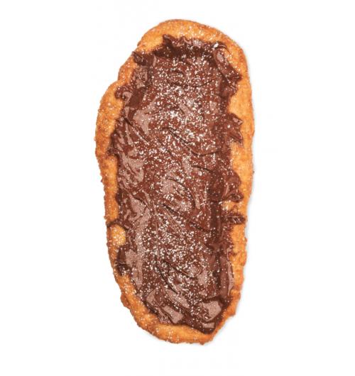 Queues de Castor Chocolat Noisette - Pâtisserie Queues de Castor tartine Chocolat Noisette