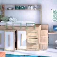Lit Spazio bed - Lit avec rangements