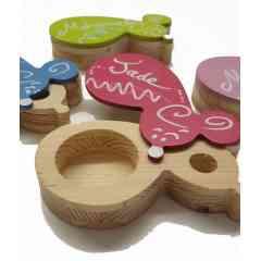 Boîte à dent de lait - <p>Bo&icirc;te &agrave; dent de lait pour votre enfant&nbsp;</p> <p>Hand Made, Made in France et r&eacute;alis&eacute; sur stand</p>
