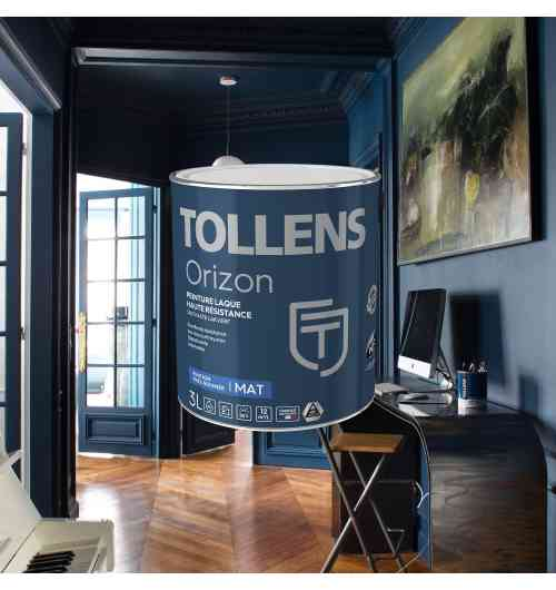 Orizon, la laque murale haute résistance - Nouvelle formule en 2018 pour la peinture laque acrylique aux résines polyuréthannes, résistante aux chocs et aux rayures pour une excellente durabilité et un tendu parfait.