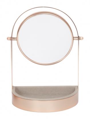 Miroir rose poudré