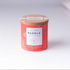 PANELA 125g - Sucrier avec couvercle en liège. Il embellit chaque petit déjeuner ou table basse et est pratique à utiliser.
