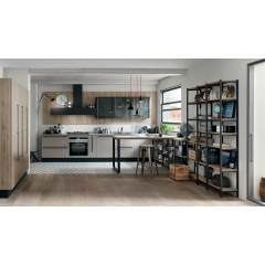 StartTime - <p>START-TIME: &eacute;tablir une approche efficace, en conf&eacute;rant &agrave; l'espace cuisine l'image jeune d'un design aux lignes pures, habill&eacute; de couleurs cool et avec des finitions bois s'inspirant des tendances qui pr&ocirc;nent la naturalit&eacute;.</p>
