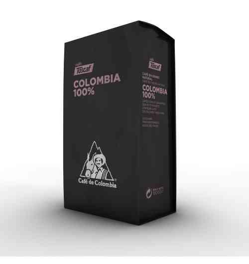 """""""Café de Colombia 100%"""" en grains 1Kg - Café arabica de haute montagne :Café arabica suprême, cultivé à une altitude de 1200 à 1800 m au-dessus du niveau de la mer, lavé, torréfié traditionnel, café avec beaucoup de corps et une acidité modérée, très aromatique et une légère touche d'amertume."""