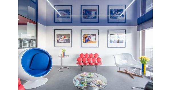 plafond tendu luxtend foire de paris. Black Bedroom Furniture Sets. Home Design Ideas