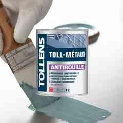 Toll-Métaux Antirouille - Primaire antirouille, aux résines alkydes et pigments anticorrosion, en phase solvant.