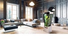 COLONNE AQUARIUM - <p>La colonne en V Vissaya confirme son succès grâce à sa forme atypique unique au monde qui apporte une touche originale dans un bel intérieur design.</p>