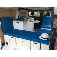 Packs ESSENTIEL - EVASION - CONFORT & COMBI - kit camping-car évolutif, universel, sans outil, modulable et amovible pour véhicules