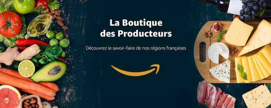 logo amazon boutique des producteurs