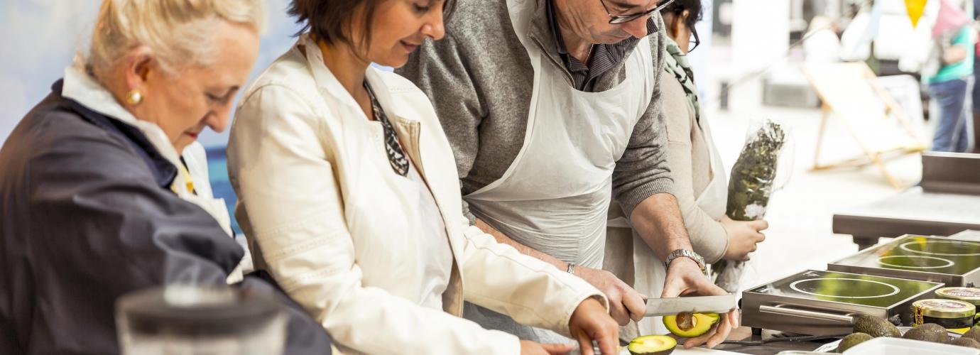 Ateliers cuisine foire de paris for Atelier cuisine paris