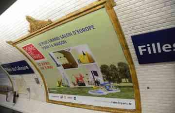 photo affichage métro FDP 2017