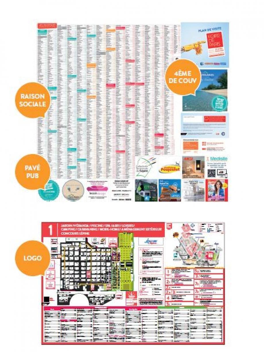 Exemple plan de visite Foire de Paris 17